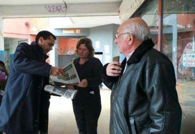 Gelay visit� el Barrio San Isidro