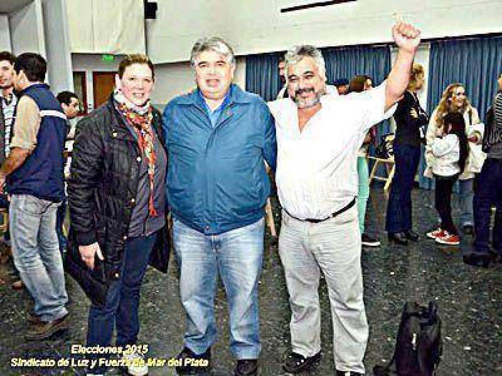 Rigane volvió a ser elegido secretario general de Luz y Fuerza Mar del Plata
