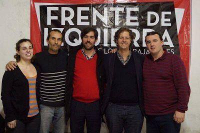 Candidatos del Frente de Izquierda estuvieron en Mar del Plata