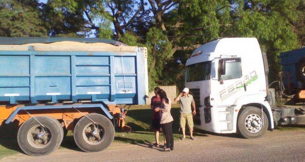 Concejales insisten con el control a camiones areneros