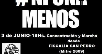 #NiUnaMenos: Importantes adhesiones a la marcha del 3 de Junio