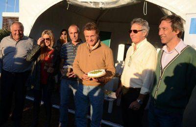 Finalizó la primera edición de la Fiesta del Kiwi