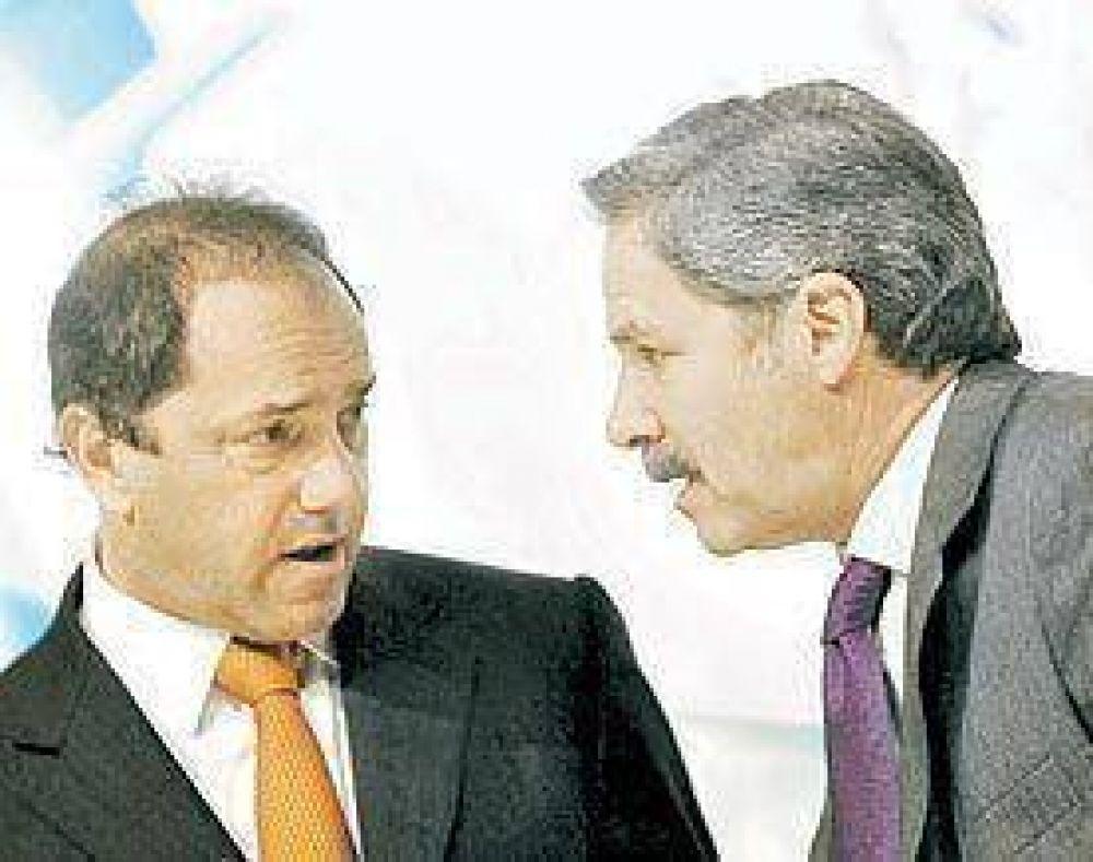 Solá salió a apoyar a Scioli en el reclamo de ayuda financiera