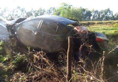 Una mujer falleció en un vuelco, en la Autovía 14