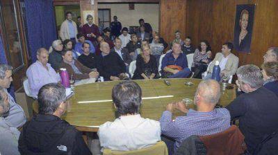Buzzi delineó el futuro plan de obras de Scioli en la provincia