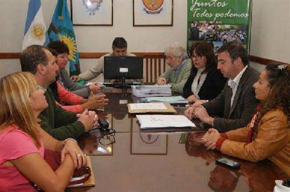 Avanzan con la ampliación de la escuela secundaria de Cortínez