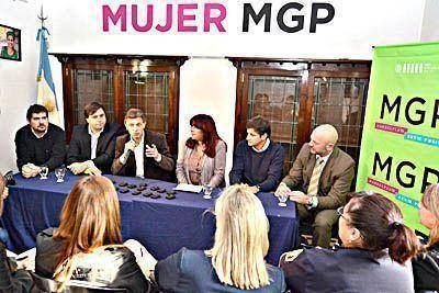 Se inaugur� la primera Casa de la Mujer de la historia de Mar del Plata