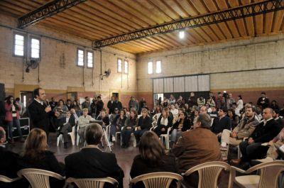 José Corral presentó un proyecto de intervención integral para Chalet y San Lorenzo