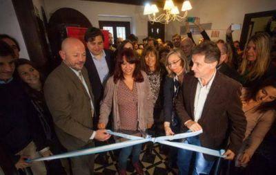 Gustavo Pulti inauguró la Casa de la Mujer