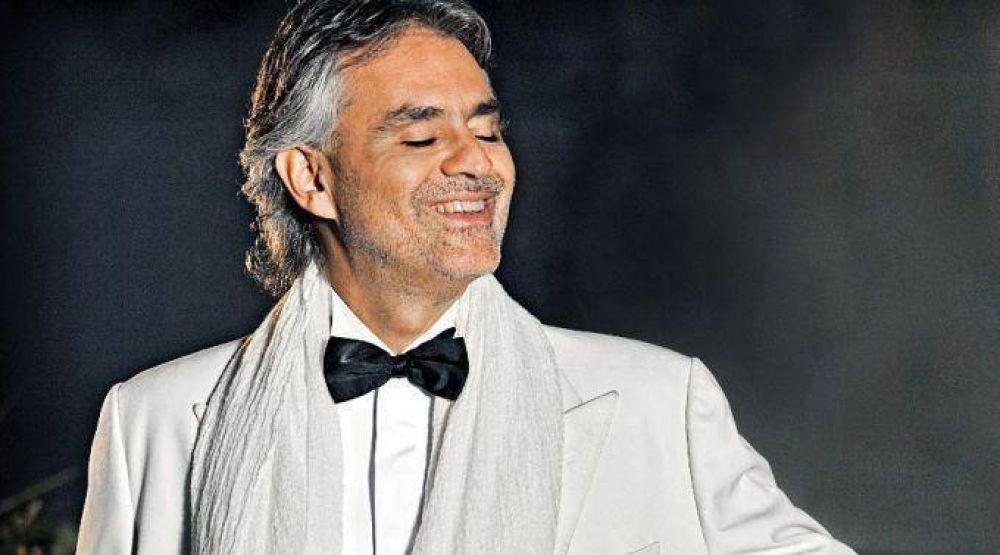 Bocelli presenta