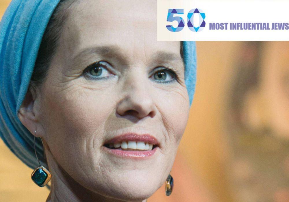 Rachelle Fraenkel fue destacada como uno de los 50 judíos más influyentes del mundo
