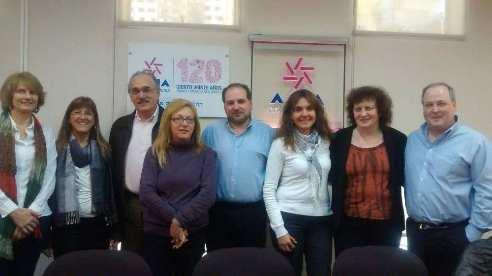 AMIA se reunió con legisladores del Partido Socialista para hablar sobre temáticas sociales