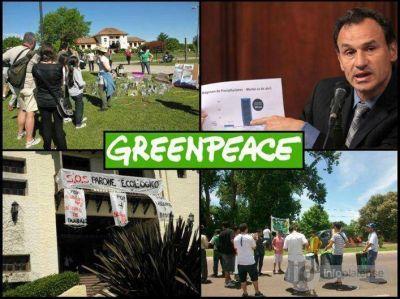 Greenpeace junta firmas contra la gestión Bruera por la destrucción del Parque Ecológico