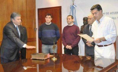 Morante juró como presidente de Lotería Chaqueña