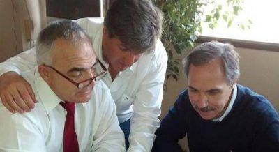 Cumbre massista en Ensenada: Celi, Arteaga y Scheffer reunidos para trabajar en un proyecto regional
