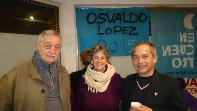 Osvaldo López: Reunión de trabajo con Jubilados Autoconvocados