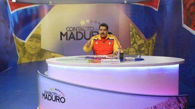 Maduro atacó a EEUU y a Europa:
