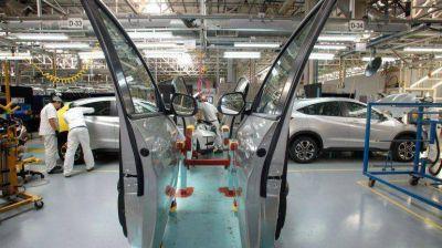 La producción automotriz cayó 9,7% en mayo