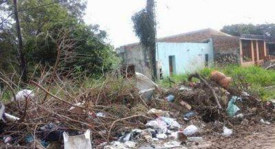 Olivera afirmó que hay varios barrios totalmente abandonados