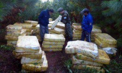Incautaron m�s de cuatro toneladas de marihuana