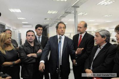 Scioli: Cristina dejará