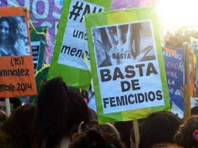 Una multitud colmó el Monumento en contra de la violencia de género