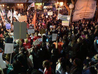 #NiUnaMenos: 15.000 mendocinos marcharon contra la violencia de género