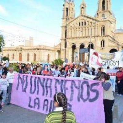 La Rioja salió a la calle y gritó fuerte #NiUnaMenos