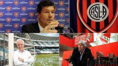 El sospechoso silencio de los tres candidatos al sillón de la AFA: Tinelli, Blanco y Moyano; los desaparecidos en acción