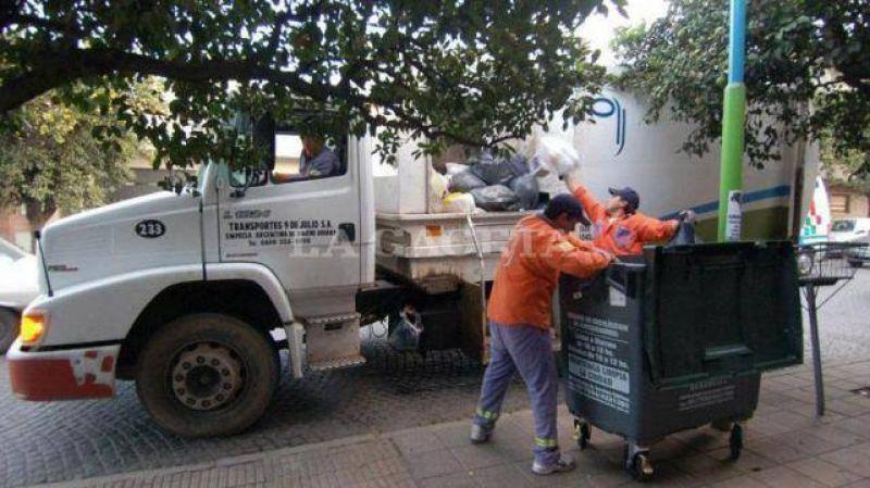 Mañana se resentirían algunos servicios por un acto del sindicato de Camioneros