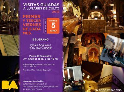 Visita guiada a lugares de culto  Iglesia Anglicana San Salvador