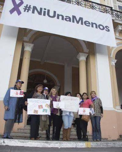 """La Cámara de Diputados participó de la Marcha """"Ni una Menos"""""""