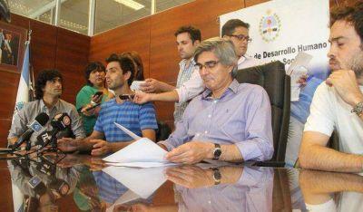 Daniel Molina será el candidato del FpV en Santa Lucía