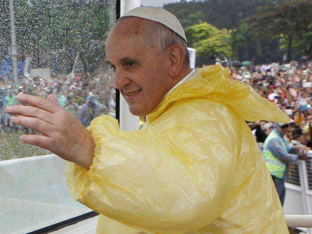 Si no corrió del tifón, menos temerá mojarse en el Bañado