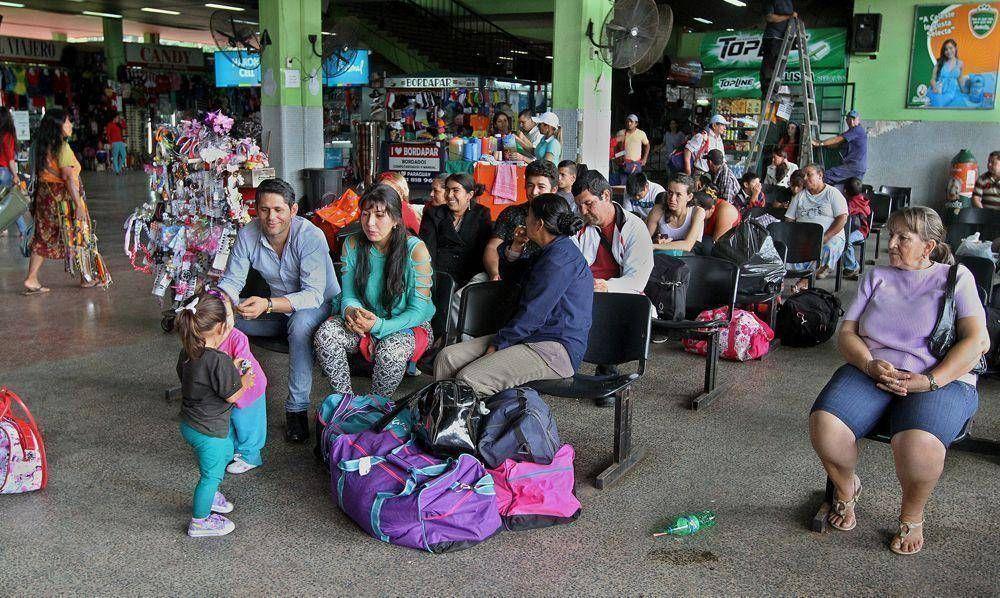 Terminal de Ómnibus se alista para la venida del Papa