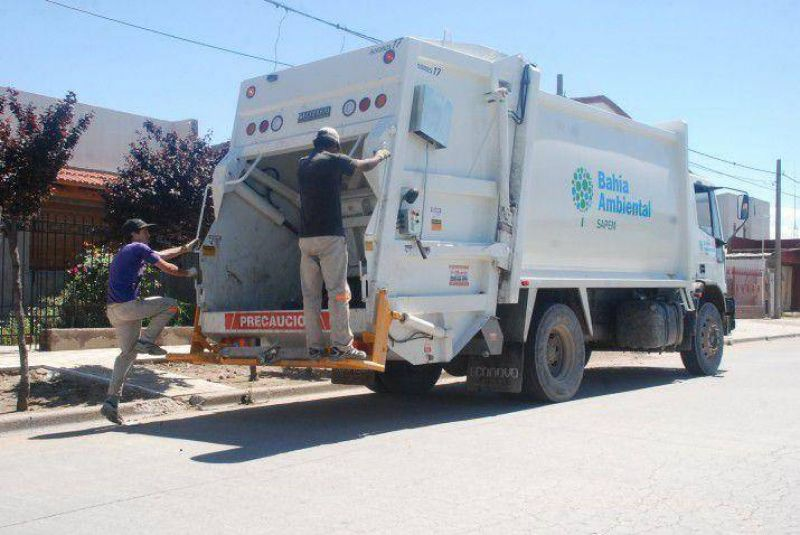 Pese al paro de camioneros, en Bahía habrá recolección de residuos