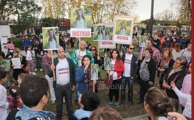 El pedido de Justicia por Marisol presente en la manifestación de Saladillo