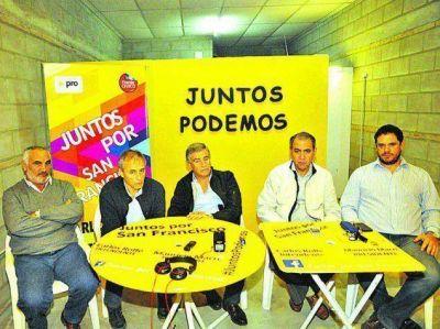 Juntos por Córdoba hizo su presentación oficial en San Francisco
