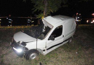 Un hombre perdió la vida en un grave accidente en la ruta 12, cerca de María Luisa