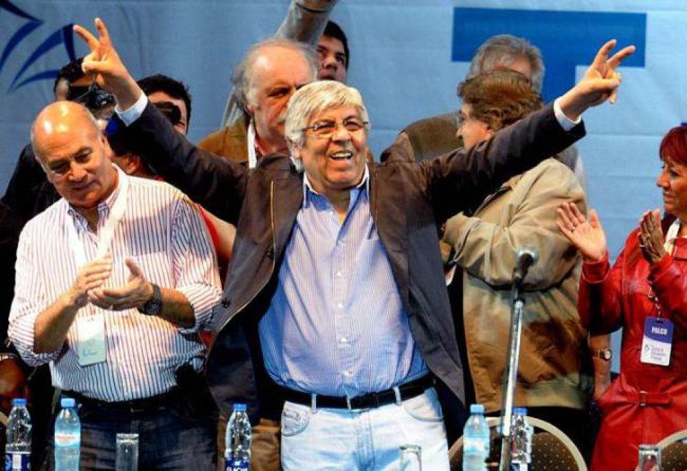 """Moyano, recargado con CFK: """"Hicieron la revolución recaudadora"""""""