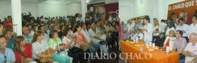 """Cónclave de Vamos Chaco en Sáenz Peña, """"con los motores mucho más afinados"""""""
