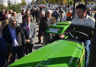 Se entregó maquinaria agrícola para 30 productores de San Martín