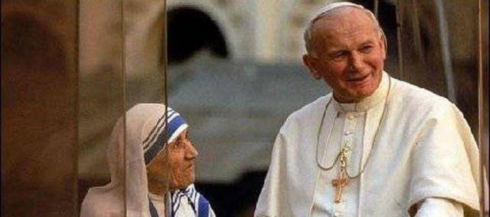 Las víctimas del conflicto armado en Colombia veneran la sangre de Juan Pablo II