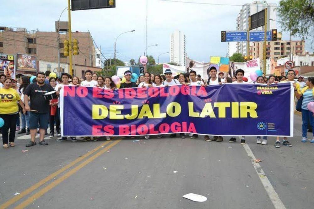 Papa Francisco y la Marcha por la Vida en Lima: Sigan haciendo lío