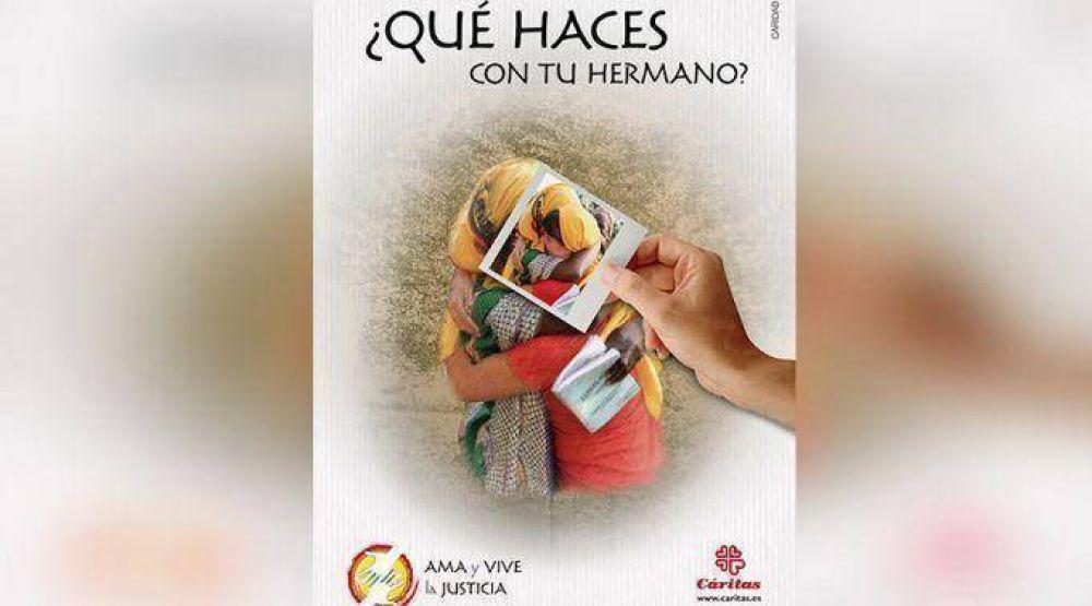 """España: Caritas lanza campaña """"¿Qué haces con tu hermano?"""" por Día de la Caridad"""