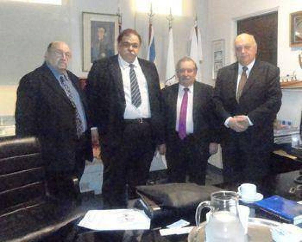 La DAIA re reunió con Gran Logia de Libres y Aceptados Masones de la Argentina