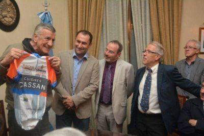 Gioja se reunió con cooperativas vitivinícolas