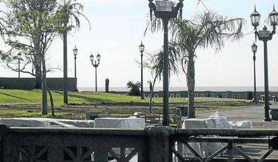 El monumento a Colón llega a Costanera Norte