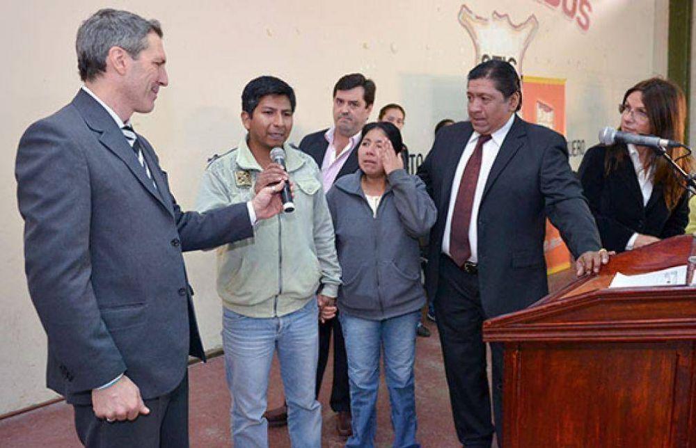 El IPV sorteó viviendas para noventa familias de Rosario de Lerma.