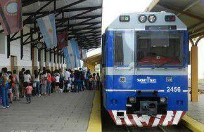 Piden soluciones para el mal servicio del tren urbano